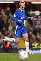 Fotball<br /> Foto: SBI/Digitalsport<br /> NORWAY ONLY<br /> <br /> Carling Cup Semi Final first leg<br /> <br /> Chelsea v Manchester United. 12/1/2005.<br /> <br /> Chelsea's Jiri Jarosik on his debut.