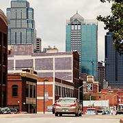 Downtown streetscape, Grand Avenue, Kansas City, MO.