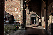 Bologna, In the yard of Basilica di Santo Stefano