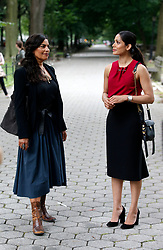 "EXCLUSIVE: Freida Pinto , Sarita Choudhury two new cast members of the Hulu show ""The Path"". 27 Jul 2017 Pictured: Sarita Choudhury, Frieda Pinto. Photo credit: SteveSands/NewYorkNewswire/MEGA TheMegaAgency.com +1 888 505 6342"