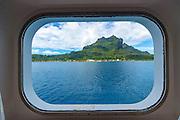 View from stateroom,  Bora Bora, French Polynesia