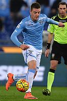 Sergej Milinkovic Savic Lazio <br /> Roma 11-02-2016 Stadio Olimpico, Football Calcio 2015/2016 Serie A. Lazio - Hellas Verona . Foto Andrea Staccioli / Insidefoto