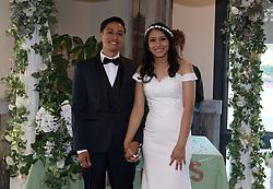 Wedding in Honor of Fernanda & Ricky Estrada on July 31, 2021 in Upland, California (Photo by Monica Gutierrez/VipEventPhotography.com)