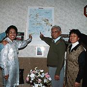 Familie Solisa Hoeker 12 voor de kaart van de Molukken
