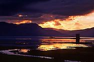Castle Stalker on Loch Linnhe, Scotland.  May 1996
