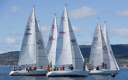 Pelle P Kip Regatta 2019 Day 1<br /> <br /> Light and bright conditions for the opening racing on the Clyde keelboat season<br /> <br /> Sigma 33 Start