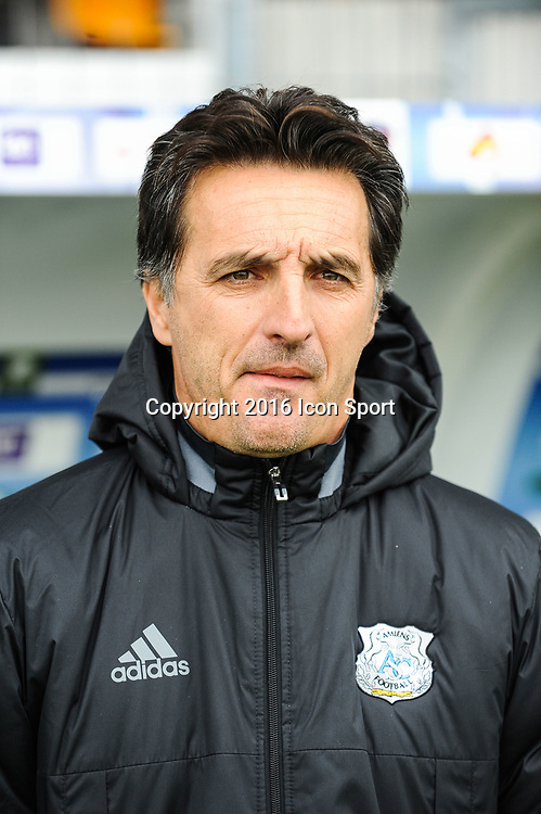 Christophe PELISSIER coach of Clermont during the French Ligue 2 between Clermont and Amiens at Stade Gabriel Montpied on October 29, 2016 in Clermont-Ferrand, France. (Photo by Jean Paul Thomas/Icon Sport)