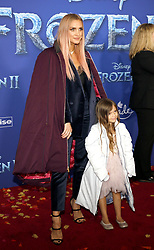 Ashlee Simpson and Jagger Snow Ross at the World premiere of Disney's 'Frozen 2' held at the Dolby Theatre in Hollywood, USA on November 7, 2019.