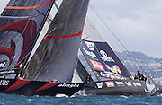 Team New Zealand are out sailed by Alinghi in the final race of the America's Cup 2003. 2/3/2003 (© Chris Cameron 2003)