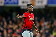 Manchester United Midfielder Paul Pogba (6) during the The FA Cup match between Chelsea and Manchester United at Stamford Bridge, London, England on 18 February 2019.