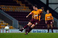 Photo: Jed Wee.<br />Bradford City v Tranmere Rovers. The FA Cup.<br />06/11/2005.<br /><br />In a remarkable second half turnaround, Lee Crooks is credited with a goal from a ranged shot that hits the crossbar, the ground and then bounces out.