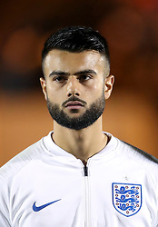 England's Easah Suliman
