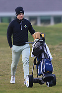 James Monaghan (Royal Dublin) on the 4th tee during Round 3 of The West of Ireland Open Championship in Co. Sligo Golf Club, Rosses Point, Sligo on Saturday 6th April 2019.<br /> Picture:  Thos Caffrey / www.golffile.ie