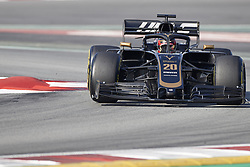 February 28, 2019 - Spain - Kevin Magnussen (Rich Energy Haas F1 Team) VF19 car, seen in action during the winter testing days at the Circuit de Catalunya in Montmelo  (Credit Image: © Fernando Pidal/SOPA Images via ZUMA Wire)