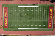 A general view of Sartoris Field and track at Glendale Community College, Tuesday, Nov. 24, 2020, in Glendale, Calif.