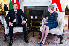 2018-04-26 - SWNS POOL - Theresa May meets Azerbaijan President