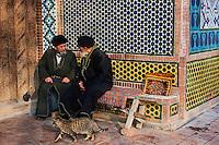 Ouzbekistan, region de Fergana, Kokand, capitale du Khanat de Kokand, mausolée de Dakhma I Shokhon // Uzbekistan, Fergana region, Kokand, capital of Khanat of Kokand, Dakhma I Shokhon mausoleum