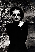 Annie Lennox in Paris 1987 photography