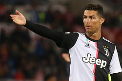 May 12, 2019 - Rome, Lazio, Italy - Roma, Lazio, Italy, 12-05-19, Italian football match between As Roma - Juventus at the Olimpico Stadium in picture Cristiano Ronaldo striker of  Juventus, the final score is 0-2 for As Roma  (Credit Image: © Antonio Balasco/Pacific Press via ZUMA Wire)