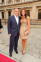 ALEXANDER & ELLA KRASNER at the Royal Academy of Arts Summer Party held at Burlington House, Piccadilly, London on 9th June 2010.