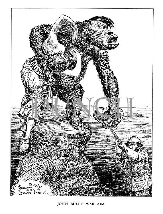 John Bull's War Aim