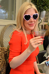 FIONA LEAHY at a ladies Valentine's Breakfast to launch the new healthy food menu at royal favourite restaurant Bumpkin, 119 Sydney Street, London on 14th February 2014.