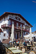 The town of Bidart, Biarrtiz, Basque country, France