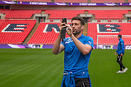 Steve Arnold Forest Green Rovers Football Club Familiarisation visit to Wembley Stadium, London, England on 10 May 2016. Photo by Shane Healey.