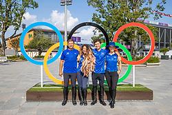 Team Israel, Vlock Teddy, Waldman Dani, R., Michan Alberto, Bond Ashlee<br /> Olympic Games Tokyo 2021<br /> © Hippo Foto - Stefan Lafrentz<br /> 31/07/2021