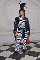 Selah Marley attending the Christian Dior show as part of the Paris Fashion Week Womenswear Fall/Winter 2018/2019 in Paris, France on February 27, 2018. Photo by Aurore Marechal/ABACAPRESS.COM