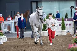 Sato Eiken, JPN, Saphyr Des Lacs, 360<br /> Olympic Games Tokyo 2021<br /> © Hippo Foto - Dirk Caremans<br /> 31/07/2021