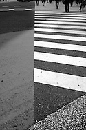 Crosswalk at Shinjuku Station