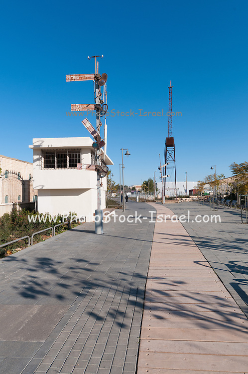 The German Colony in Jerusalem, Israel Founded by the German Templer movement who settled here and elsewhere in Israel in the late 19th century. The train station in Milton's Way bike path