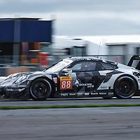 #88, Proton Competition, Porsche 911 RSR, LMGTE Am, driven by: Gianluca Roda, Giorgio Roda, Matteo Cairoli at FIA WEC Silverstone 6h, 2018 on 19.08.2018