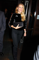 Model JERRY HALL at an aftershow party following the opening of the play Whose Life is it Anyway held at Mint Leaf, Suffolk Place, London SW1 on 26th January 2005.<br /><br />NON EXCLUSIVE - WORLD RIGHTS