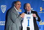 Apr 10, 2019-NCAA Basketball-UCLA-Press Conference