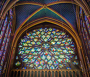 La Sainte-Chapelle is one of the only surviving buildings of the Capetian royal palace on the Île de la Cité in the heart of Paris, France (the others being those of the Conciergerie). It was commissioned by King Louis IX of France to house his collection of Passion Relics, including the Crown of Thorns - one of the most important relics in medieval Christendom. Begun some time after 1239 and consecrated on the 26th of April 1248, the Sainte-Chapelle is considered among the highest achievements of the Rayonnant period of Gothic architecture. Although damaged during the French revolution and heavily restored in the 19th century, it retains one of the most extensive in-situ collections of 13th century stained glass anywhere in the world.