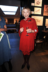 Actress SUSANNA YORK at an auction and priavte view of paintings, drawings, stories and doodles by well known personalities held at Christie's, St.James's, London on 20th September 2010.