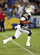 San Diego Chargers kick returner and wide receiver DeAndre Reaves (88) returns a kick off during the 2016 NFL preseason football game against the San Francisco 49ers on Thursday, Sept. 1, 2016 in San Diego. The 49ers won the game 31-21. (©Paul Anthony Spinelli)