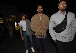 Ashley Banjo (centre), manager of Diversity Juniors (DVJ), leaving the Hammersmith Apollo, London, after they took part in the final of Britain's Got Talent.