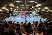 Volleyball: 1. Bundesliga, SVG Lueneburg - VSG Coburg / Grub, Lueneburg, 10.02.2016<br /> Gellersen Halle, Gellersenhoelle, Gellersenhölle<br /> © Torsten Helmke