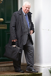 © licensed to London News Pictures. London, UK 13/11/2012. Lord Patten leaving his house on 13/11/12. Photo credit: Tolga Akmen/LNP