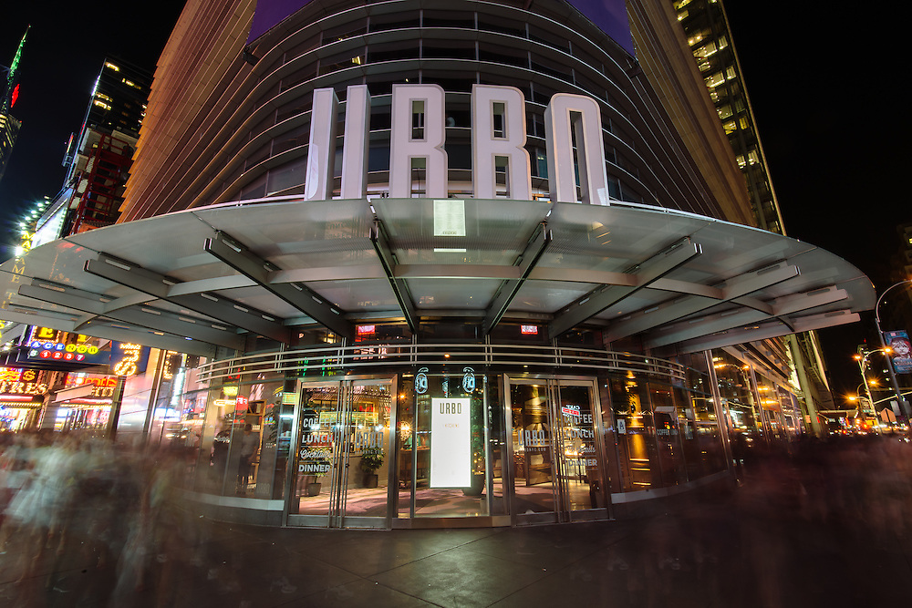 Photo Shoot of URBO restaurant on Times Square