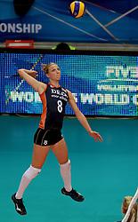 01-10-2014 ITA: World Championship Volleyball Servie - Nederland, Verona<br /> Judith Pietersen