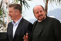 Actor Alec Baldwin and Director James Toback at the 'Seduced And Abandoned' film photocall at the Cannes Film Festival  Tuesday 21 May 2013