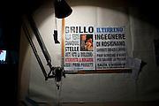 Il tavolo da disegno dell' ingegnere Filippo Nogarin nella sua casa a Castiglioncello.<br />  Livorno 13 luglio 2014 . Daniele Stefanini /  OneShot