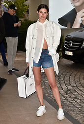 L'Oreal models and Red carpet girls seen at the Martinez hotel in Cannes. 20 May 2019 Pictured: Sara Sampaio. Photo credit: Neil Warner/MEGA TheMegaAgency.com +1 888 505 6342