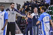 DESCRIZIONE : Eurocup 2015-2016 Last 32 Group N Dinamo Banco di Sardegna Sassari - Cai Zaragoza<br /> GIOCATORE : Francesco Pellegrino Federico Pasquini<br /> CATEGORIA : Fair Play Before Pregame<br /> SQUADRA : Dinamo Banco di Sardegna Sassari<br /> EVENTO : Eurocup 2015-2016<br /> GARA : Dinamo Banco di Sardegna Sassari - Cai Zaragoza<br /> DATA : 27/01/2016<br /> SPORT : Pallacanestro <br /> AUTORE : Agenzia Ciamillo-Castoria/L.Canu