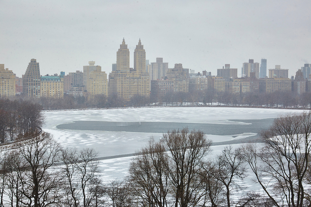 View of the Central Park Reservoir from 1049 Fifth Avenue, 16th floor