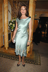 Actress CHERIE LUNGHI at the Chain of Hope Ball held at The Dorchester, Park Lane, London on 4th February 2008.<br /><br />NON EXCLUSIVE - WORLD RIGHTS